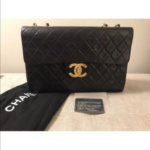 0f86a30c7e491a Women Vintage Chanel Jumbo Xl Flap Bag on Poshmark